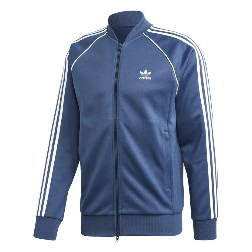 Mens Adidas Originals SST track jacket night marine