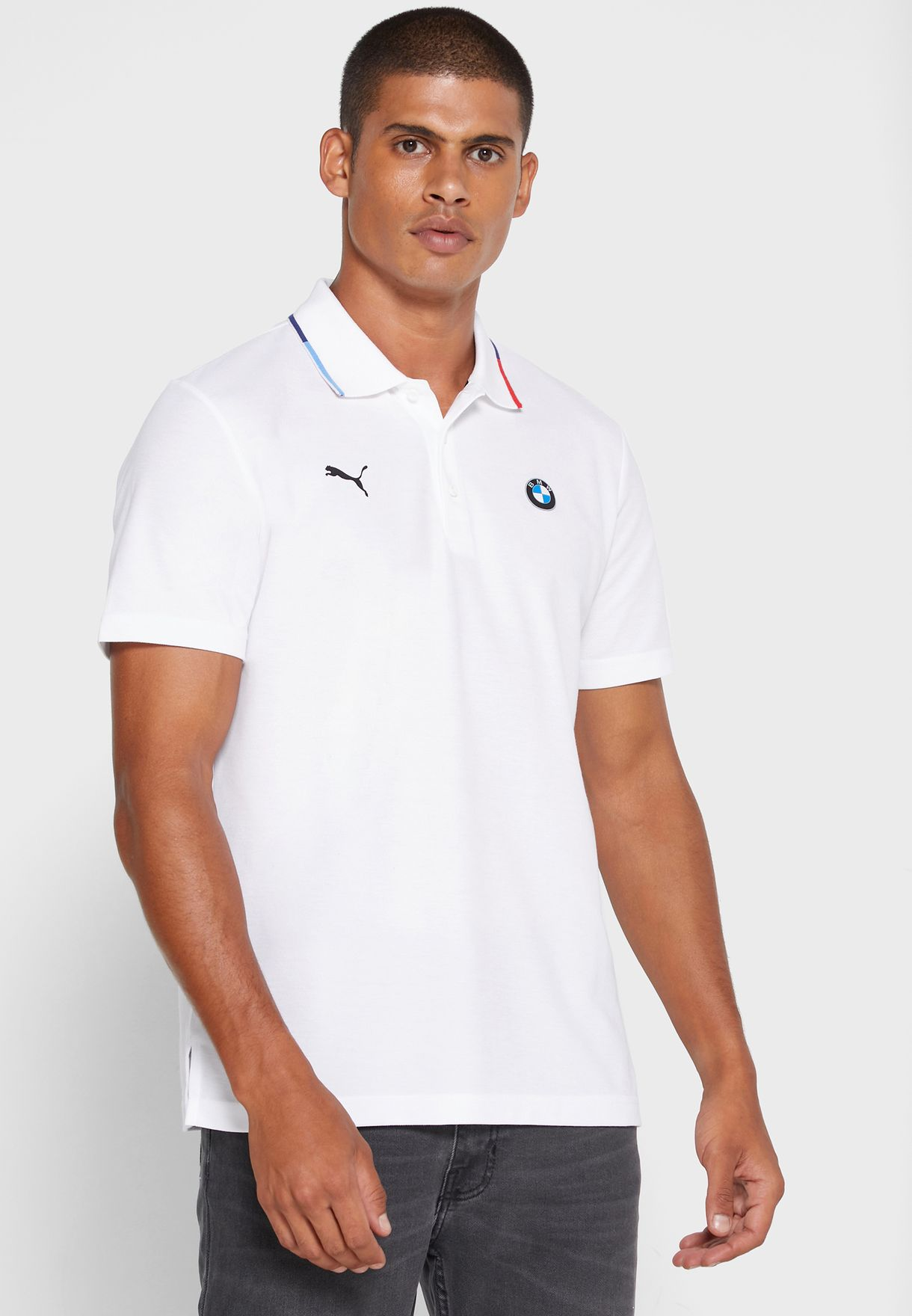Mens Puma Bmw polo shirt