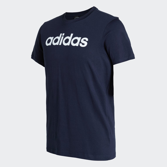 Mens Adidas Linear Tshirt blue