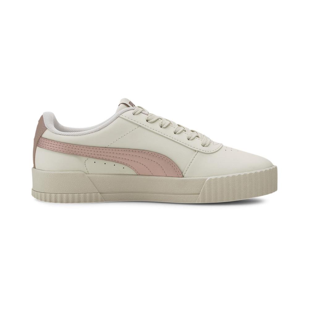 Womens Puma Carina Meta sneaker white/rosegold