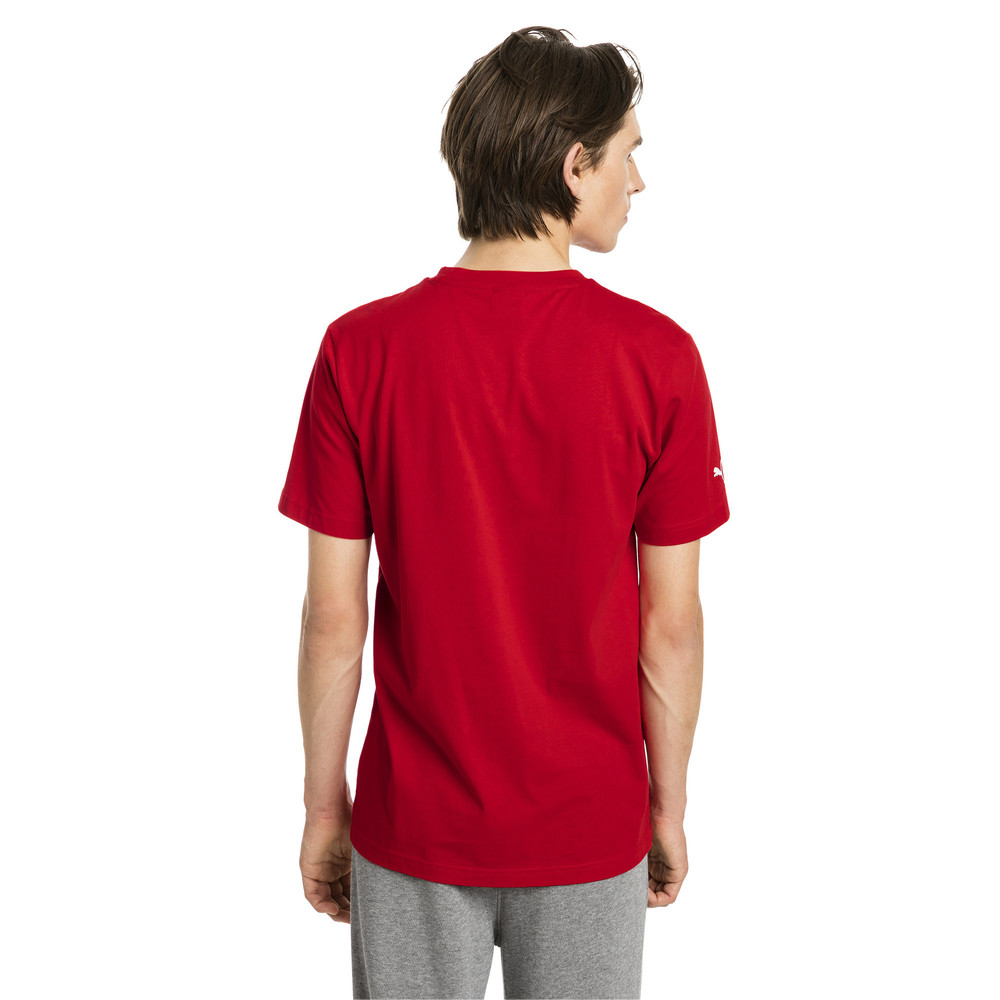 Mens Puma Ferrari Tshirt Red