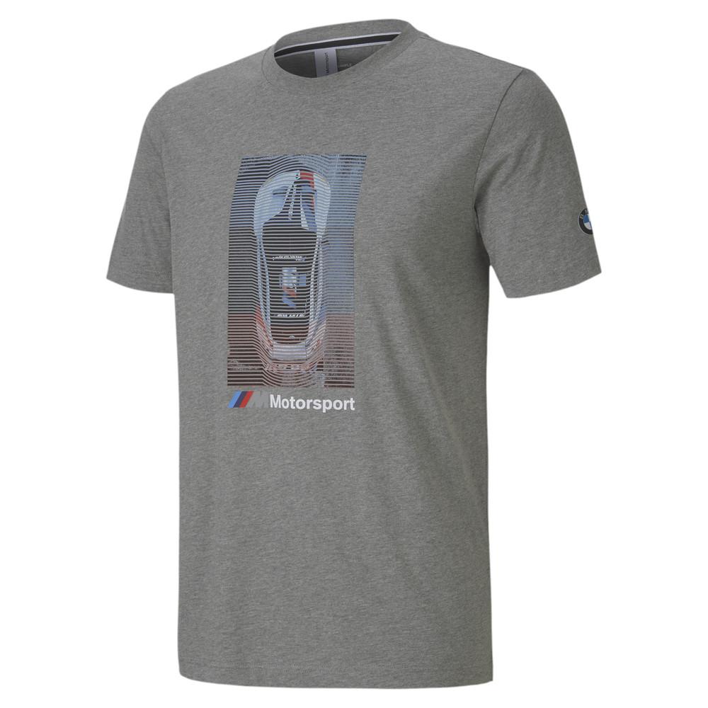 Mens Puma Bmw graphic Tshirt grey