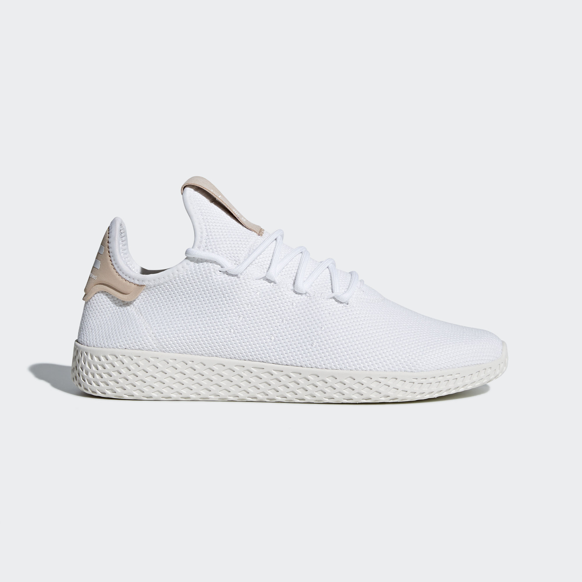Unisex Adidas Pharrell Williams Tennis HU white/Tan