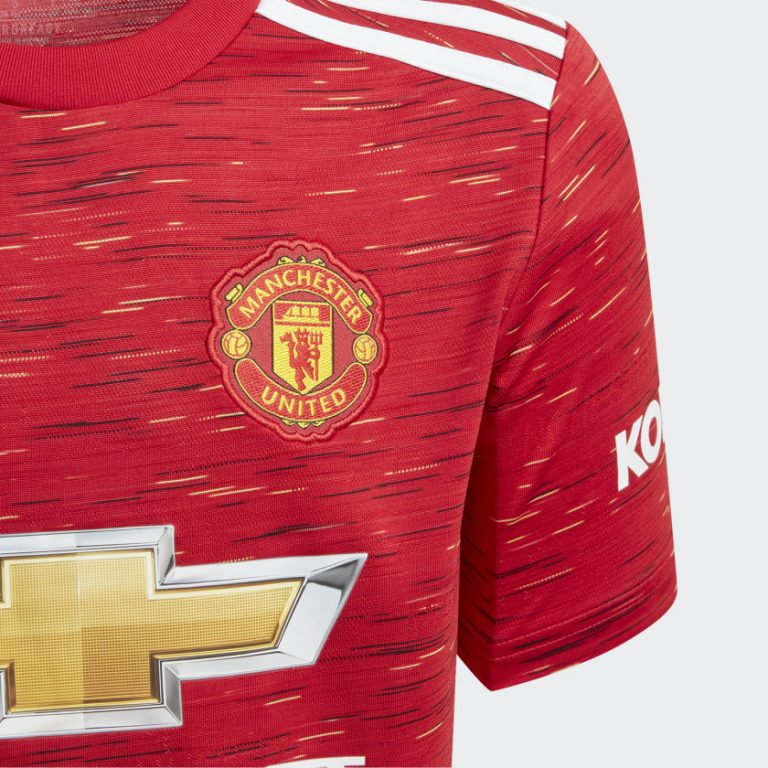 Adidas Manchester United Home Jersey 20/21 Junior