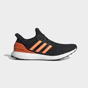 ADIDAS ULTRABOOST Boost 4.0 Black Solar Orange