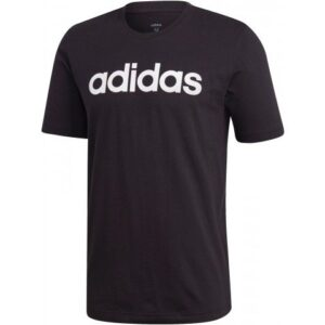 Mens Adidas Linear Tshirt black/white