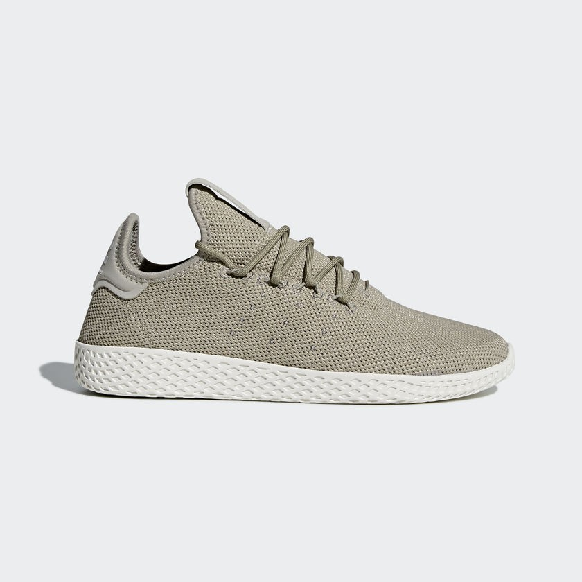 Unisex Adidas Pharrell Williams Tennis HU khaki