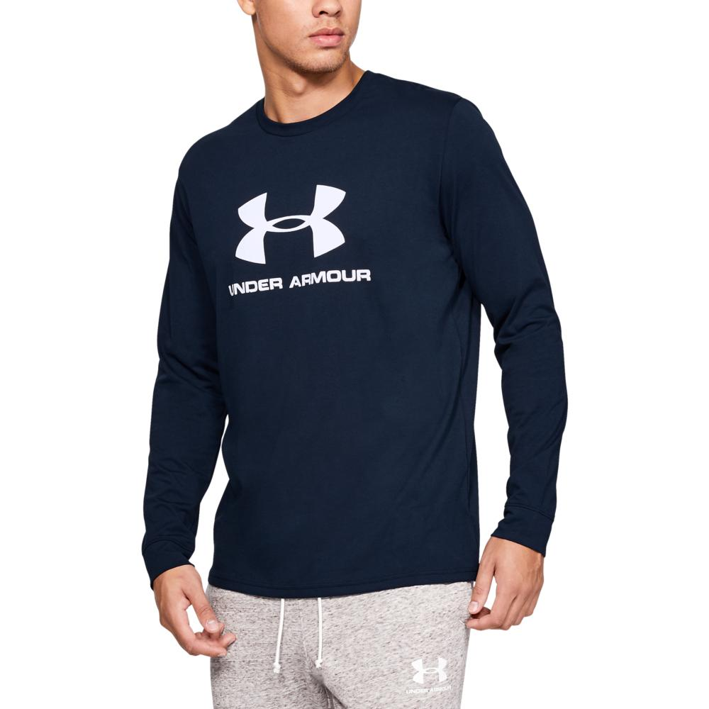 Mens Under Armour Sports long sleeve Top navy